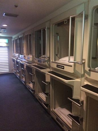 Capsule Hotel Asahi Plaza Shinsaibashi 4